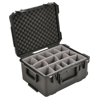 SKB iSeries 2015-10 Waterproof Utility Case (With Dividers) - Angled Open