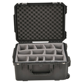 SKB iSeries 2015-10 Waterproof Utility Case (With Dividers) - Front Open