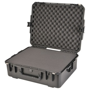 SKB iSeries 2217-8 Waterproof Case (With Cubed Foam) - Angled Open