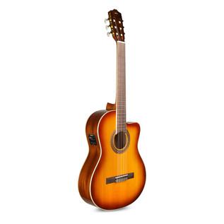 Cordoba C5-CESB Electro Acoustic Cutaway Classical Guitar, Sunburst