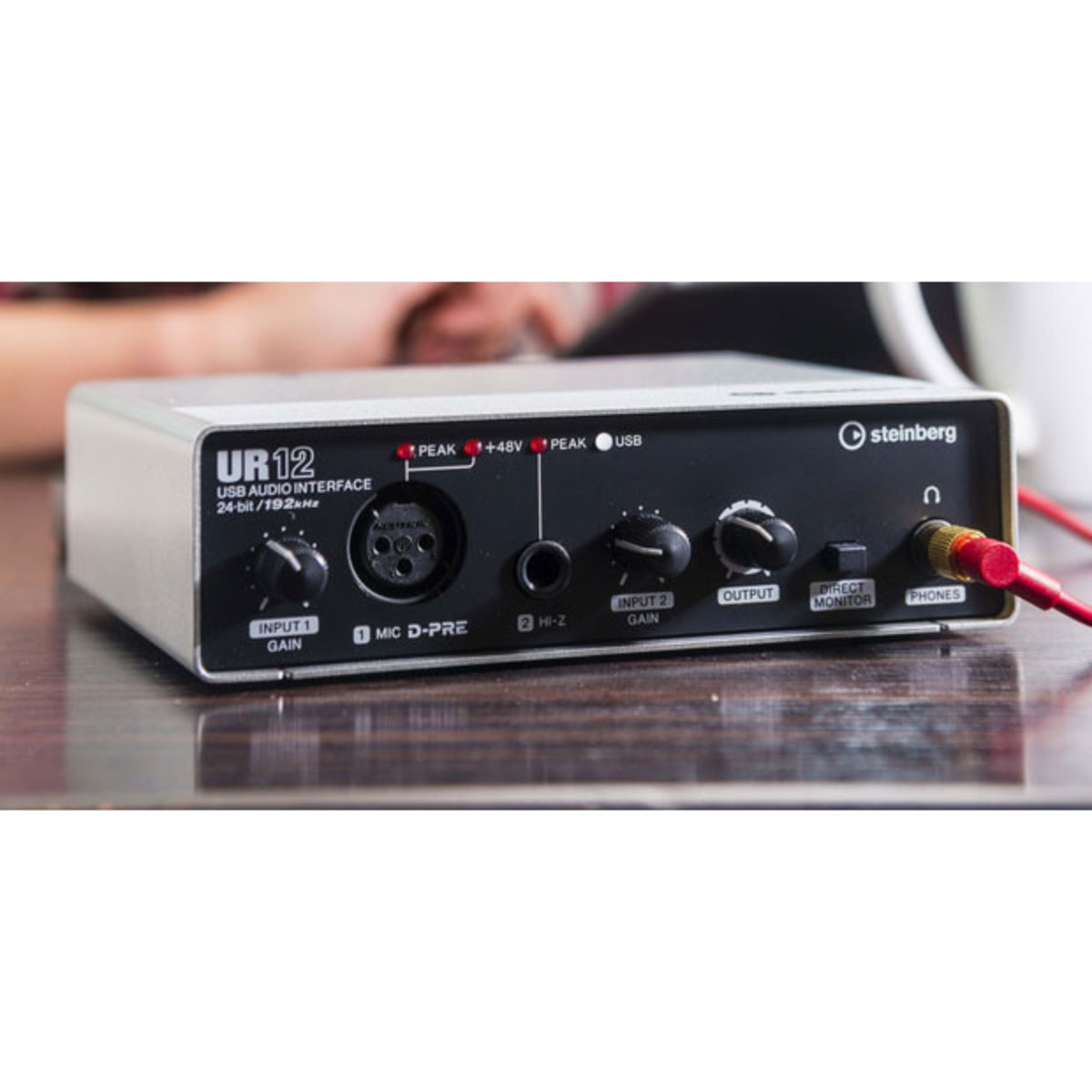 steinberg ur 12 usb audio interface ios ready nearly new at. Black Bedroom Furniture Sets. Home Design Ideas
