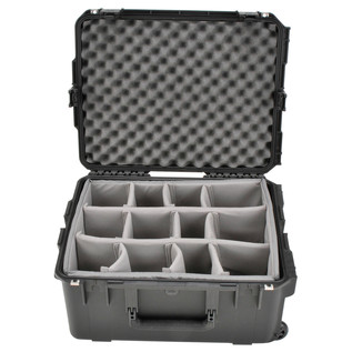 SKB iSeries 2217-10 Waterproof Case (With Dividers) - Front Open