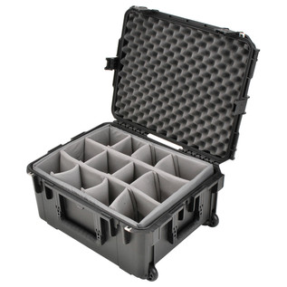 SKB iSeries 2217-10 Waterproof Case (With Dividers) - Angled Open 2