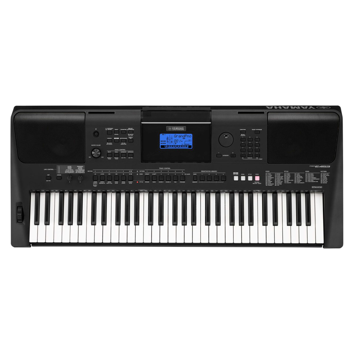 Yamaha psr e453 keyboard compare prices at foundem for Music keyboard yamaha price