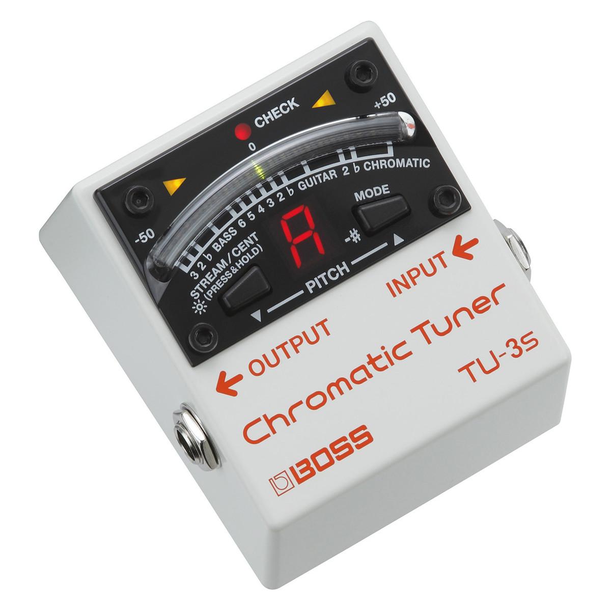 Image of BOSS TU-3S Chromatic Tuner