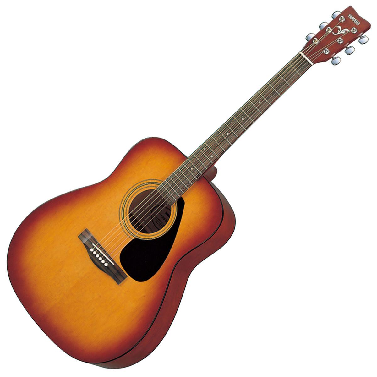 Yamaha f310 acoustic guitar tobacco brown sunburst ex for Yamaha fs 310 guitar