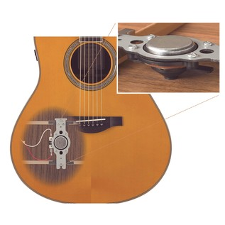 Yamaha LL-TA (R)Evolution TransAcoustic Guitar