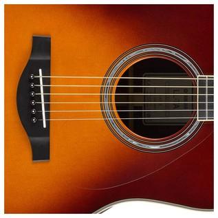 Yamaha LL-TA TransAcoustic Guitar, Brown Sunburst