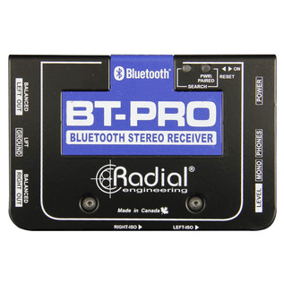 Radial Tonebone BT-Pro Bluetooth Direct Box - Top