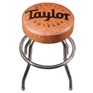 Taylor Guitars Bar Stool, Brown