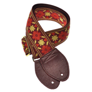 Souldier Guitar Strap Tulip, Red/Gold
