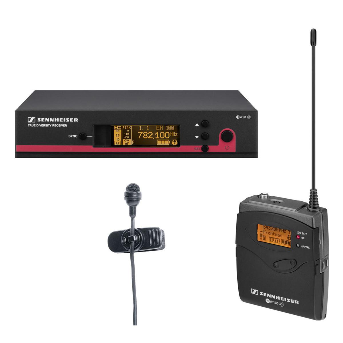 sennheiser ew 122 g3 gb wireless presentation microphone system at. Black Bedroom Furniture Sets. Home Design Ideas