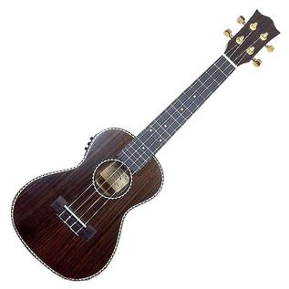 Snail UKC-498EQ Concert Electro Acoustic Ukulele, Rosewood