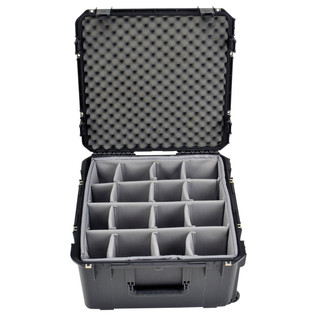 SKB iSeries 2222-12 Waterproof Case (With Dividers) - Front Open