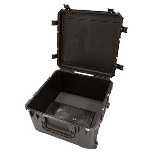SKB iSeries 2424-14 Waterproof Case (Empty) - Angled Open 2