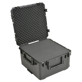 SKB iSeries 2424-14 Waterproof Case (With Cubed Foam) - Angled Open
