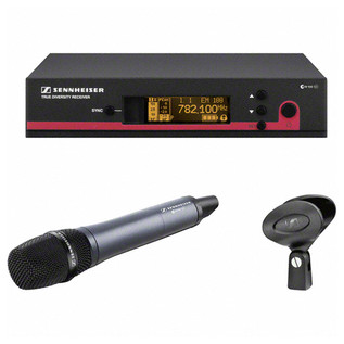 Sennheiser EW 165 G3 GB Supercardioid Condenser Handheld Wireless Set