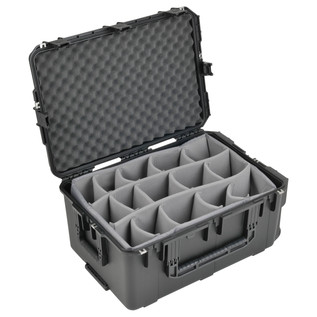 SKB iSeries 2617-12 Waterproof Case (With Dividers) - Angled Open