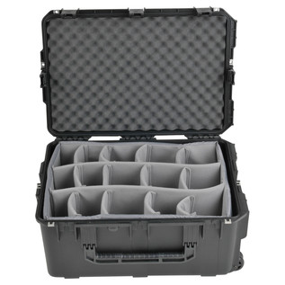 SKB iSeries 2617-12 Waterproof Case (With Dividers) - Front Open