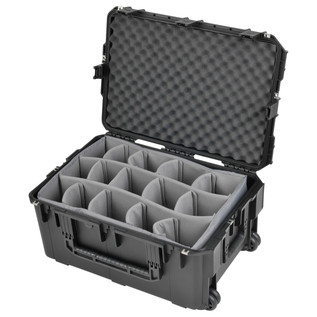 SKB iSeries 2617-12 Waterproof Case (With Dividers) - Angled Open 2