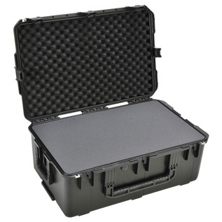SKB iSeries 2918-10 Waterproof Case (With Cubed Foam) - Angled Open