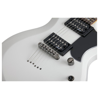 Schecter Omen S-II Electric Guitar, Vinatge White
