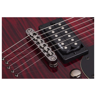 Schecter Omen Extreme S-II Electric Guitar, Black Cherry