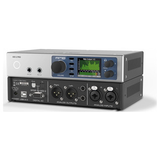 RME ADI-2 Pro AD/DA Converter - Front And Back