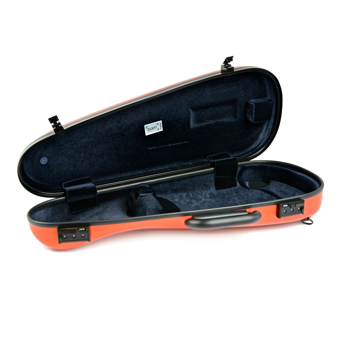 bam 2003xl hightech cabin violin case orange at