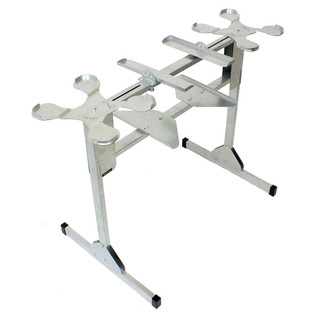 Sefour X25 CDJ Stand for CDJ 850, 900, 1000, Silver - Frame