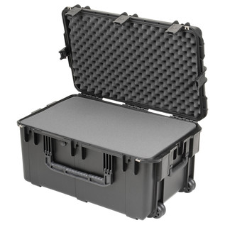 SKB iSeries 2918-14 Waterproof Case (With Cubed Foam) - Angled Open