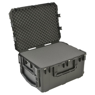 SKB iSeries 2922-16 Waterproof Case (With Cubed Foam) - Angled Open