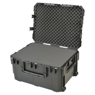 SKB iSeries 2922-16 Waterproof Case (With Cubed Foam) - Angled Open 2