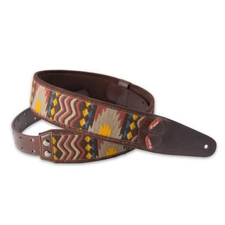 Right On Straps MOJO Azteca Guitar Strap, Patterned