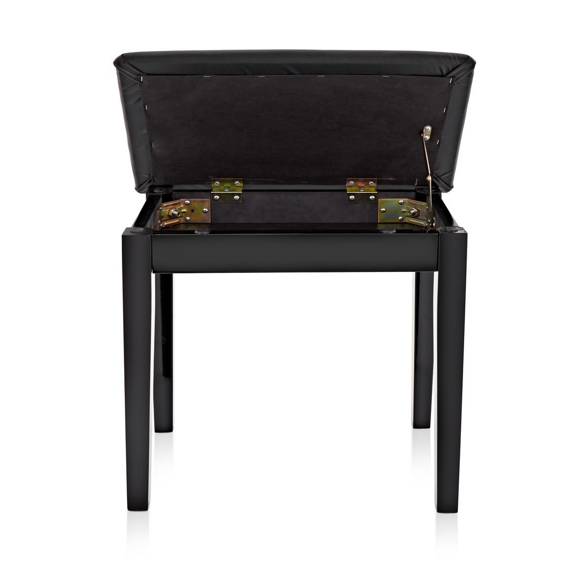 klavier hocker mit aufbewahrung von gear4music gloss. Black Bedroom Furniture Sets. Home Design Ideas