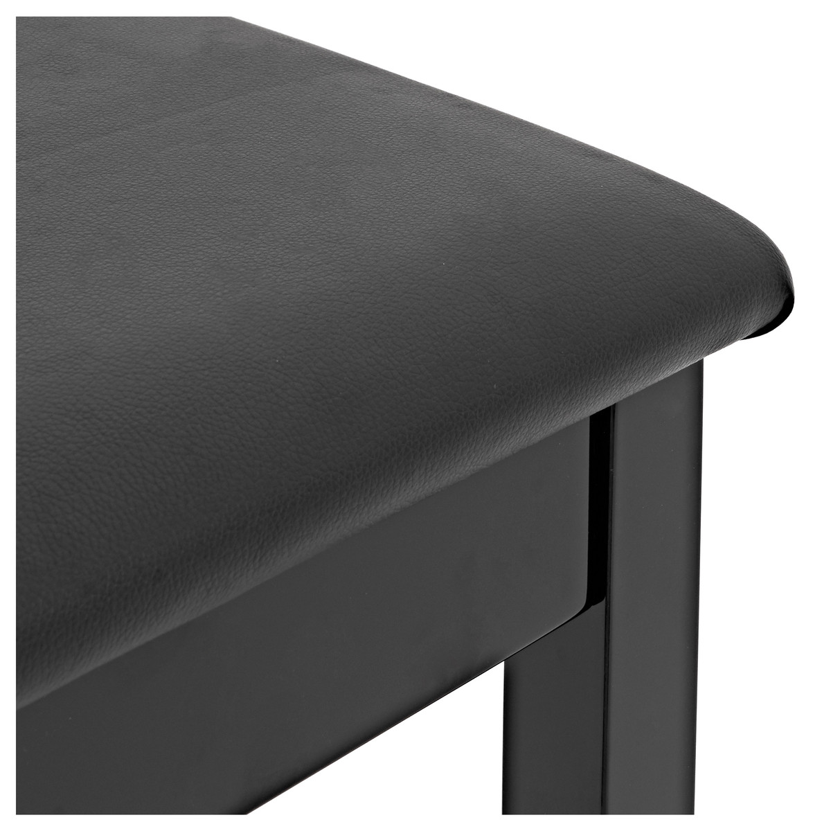 Piano Stool With Storage By Gear4music Gloss Black At