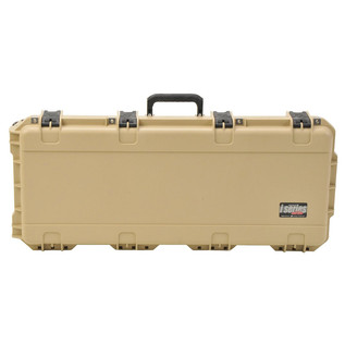 SKB iSeries 3614-6 Waterproof Utility Case (Empty), Tan - Front Closed