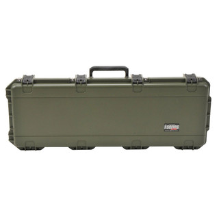 SKB iSeries 4214-5 Waterproof Case (Empty), Olive Drap - Front Closed