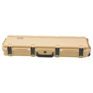 SKB iSeries 4214-5 Waterproof Case (Empty), Tan - Front Closed
