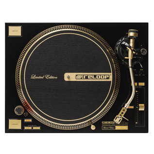 Reloop RP-7000GLD Direct Drive Turntable, Gold - Top View