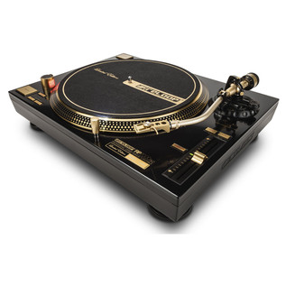 Reloop RP-7000GLD Direct Drive Turntable, Gold - Angled 2