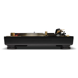 Reloop RP-7000GLD Direct Drive Turntable, Gold - Side Flat
