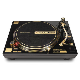 Reloop RP-7000GLD Direct Drive Turntable, Gold - Front View
