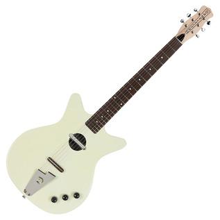 Danelectro Convertible Electric Guitar, Creme