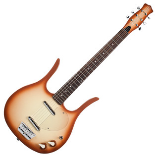 Danelectro Longhorn 58 Electric Guitar, Copper Burst