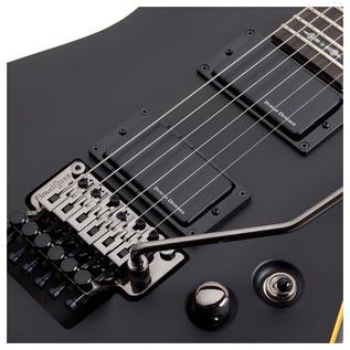 SchecterDemon-6 FR Electric Guitar, Satin Black