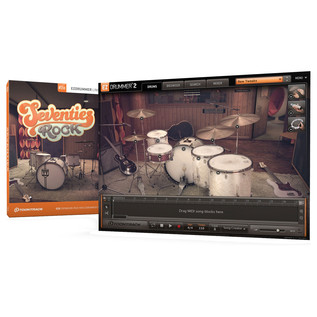Toontrack EZX - Seventies Rock - Box And Screenshot