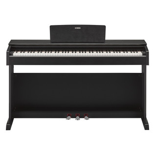 Yamaha Arius YDP143 Digital Piano Package, Black Walnut - Piano Front