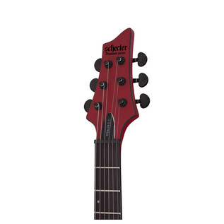 Schecter Stealth C-1 Electric Guitar, Satin Red