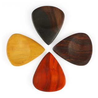 Timber Tones Groovy Tunes Guitar Picks, Players Mixed Pack Of 4